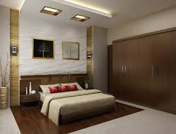 attractive home interior bedroom design ideas showing great brown