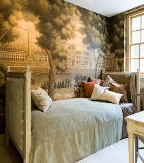 Bed Wallpaper 413 Best Wallpaper Images On Pinterest Fabric Wallpaper