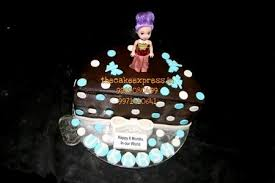 half birthday cake for baby delivey noida buy 6 month cake in