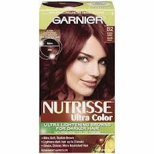 reddish brown hair color garnier nutrisse nourishing nutri browns lightening color creme