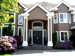 beautiful exterior house paint ideas for your home concept with