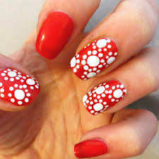 21 red and white nail art designs pics photos red nail designs