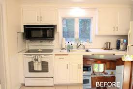 painting plastic kitchen cabinets painting laminate kitchen cabinets before and after smith design