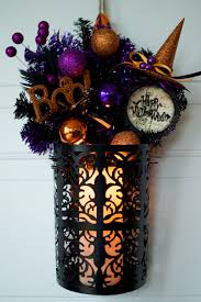 spooky handmade halloween wreath designs for your front door