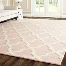 Pottery Barn Nursery Rugs by Cambridge Light Pink U0026 Ivory Tufted Wool Rug Laylagrayce Rug