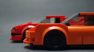 lego ferrari speed champions speed champions moc ferrari f40 and porsche gt3 rs album on imgur