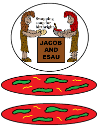 jacob and esau paper lunch bag