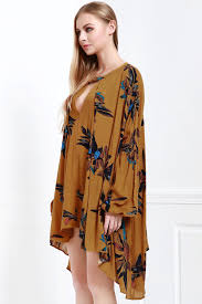 keyhole neckline long sleeve dress