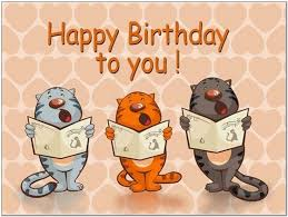 singing happy birthday cats singing happy birthday to you pictures reference
