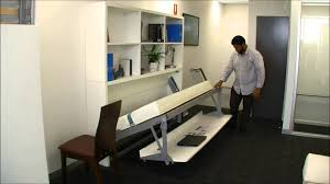 Hide Away Computer Desk The Horizontal Computer Desk With Attractive Modern Hide Away Beds