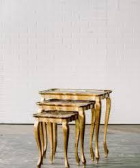 table rentals in philadelphia josephine nesting tables maggpie rentals philadelphia wedding and