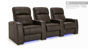 Berkline Recliners Seatcraft Sonoma 7000 Home Theater Seating 4seating