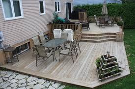Backyard Deck Ideas Photo Of Backyard Deck Ideas Ground Level Ground Level Evergrain