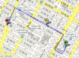 maps directions customizes map directions