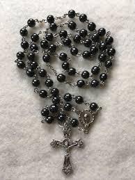 hematite rosary hematite rosary