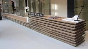 Plywood Reception Desk Spectacular Reception Desk Design Ideas