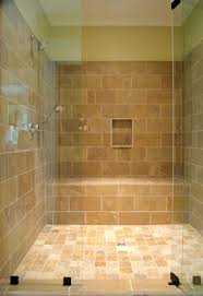 Walk In Shower With Bench Seat Built In Shower Seat Marble Shower Bench Contemporary Bathroom