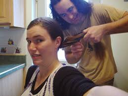 in which my crazy husband cuts off my hair pacific crest trail