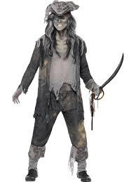 mens ladies pirate ghost ship zombie sailor halloween fancy