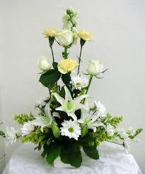 types of flower arrangements l shape floral arrangement flower arrangements shown in this