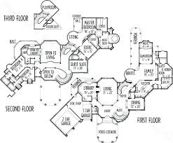 free house floor plans mansion house floor plans free modern house floor plans floor plush