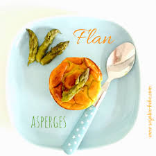 cuisiner asperges flan aux asperges vertes et parmesan une recette de régalez bébé