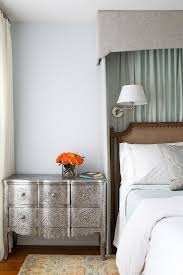 Curtains For Headboard Green Curtains Design Ideas