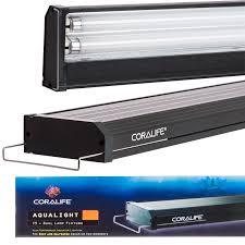 t5 aquarium light fixture coralife coralife aqualight t5 dual fluorescent l fixture