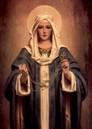 our s 15 promises for praying the rosary marian center in