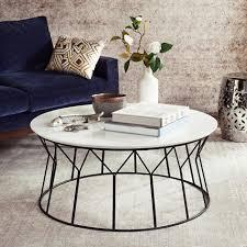 coffee table safavieh deion retro mid century lacquer white coffee
