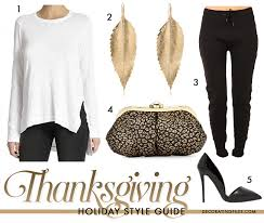 style guide what to wear on thanksgiving