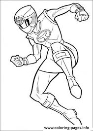 red wind power rangers sf6be coloring pages printable