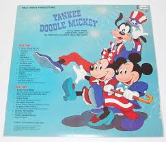 yankee doodle club 1980 disney yankee doodle mickey record sold on ruby
