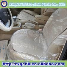 housse plastique siege auto jetables intérieur accessoires en plastique de voiture housse de