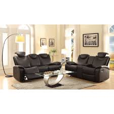Dfs Recliner Sofas by Eric Double Reclining Sofa Console Loveseat Infosofa Co