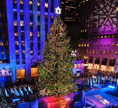 tree lighting in nyc ornaments rockefeller