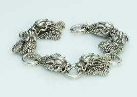 antique jewelry bracelet images Dragon men 39 s bracelet dsf antique jewelry antique vintage jewelry jpg