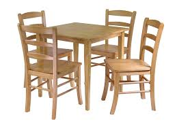 Shaker Dining Room Chairs by Amazon Com Winsome Groveland Square Dining Table With 4 Chairs