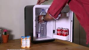 iceq 15 litre portable mini fridge black youtube