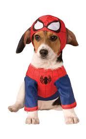 rubies marvel spider man super hero movie comic dog pet halloween