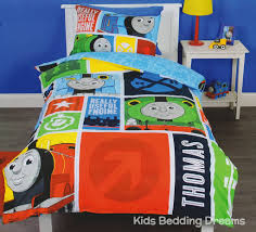 Thomas The Tank Engine Bed A Thomas The Tank Engine Bedroom Kids Bedding Dreams