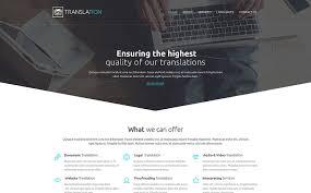 web bureau translation company web template