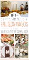 Homemade Fall Decor - 90 simple diy fall decor projects