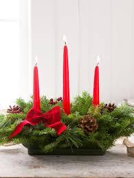 Christmas Centerpiece Images - christmas centerpiece balsam candle centerpiece