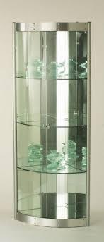 glass corner curio cabinet contemporary corner curio cabinet foter modern curio cabinets