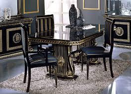 italian dining room sets rossella italian classic dining set