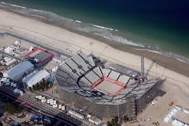 work still underway at some of the venues for the rio olympics