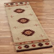 wool rug southwest diamond wool rug runners
