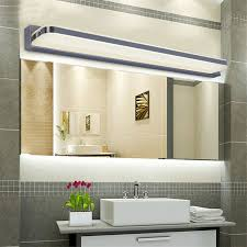 Lighting Vanity Modern Led Bathroom Lighting White U2014 Room Decors And Design