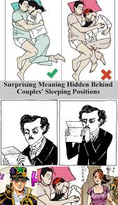 Couples Sleeping Meme - something i noticed jojo s bizarre adventure know your meme